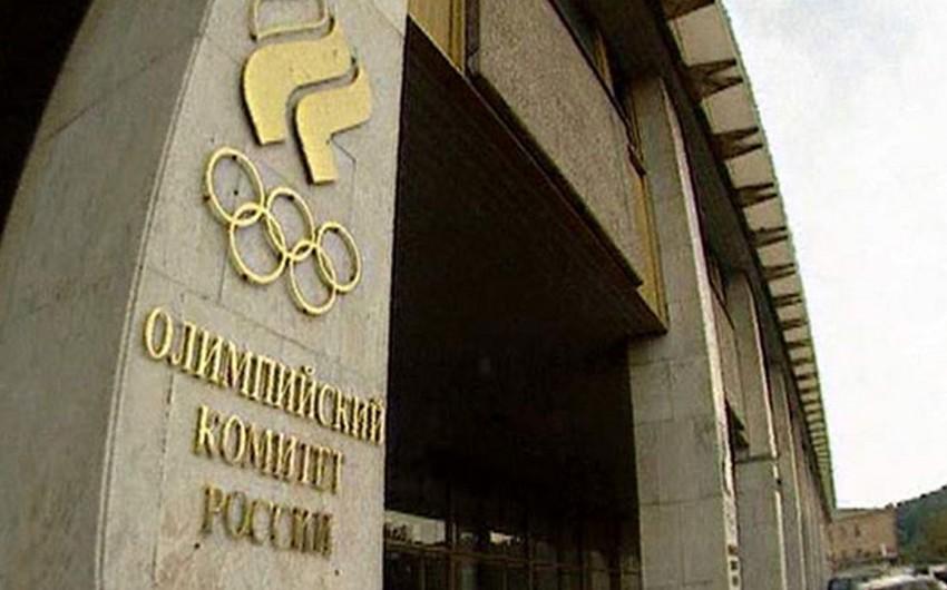 Rusiya FHN Olimpiya Komitəsinin binasındakı yanğınla bağlı xəbərləri təkzib edib - YENİLƏNİB