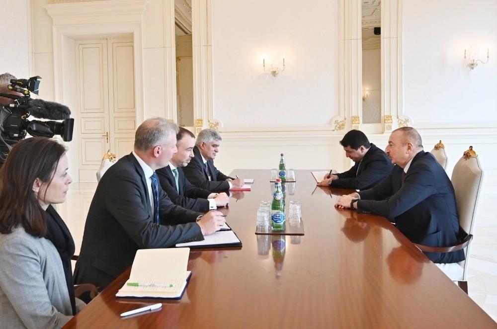 Президент Азербайджана принял спецпредставителя ЕС - ОБНОВЛЕНО