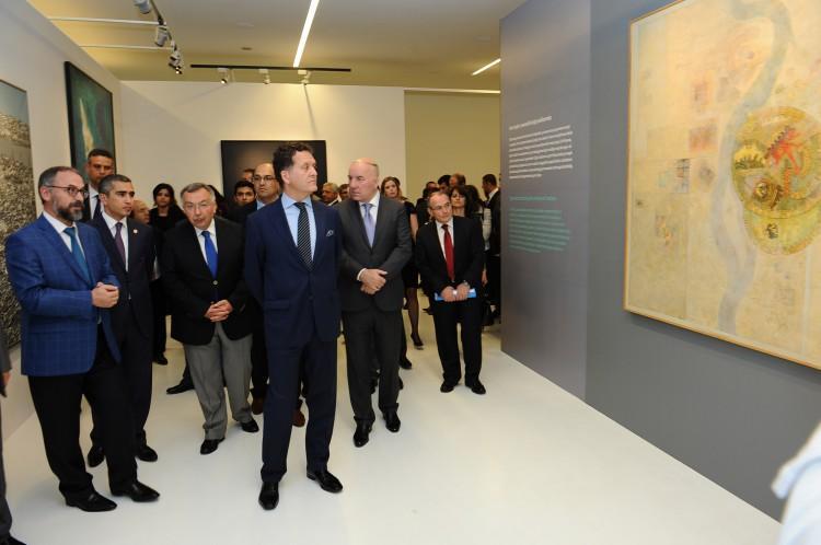 Exhibition of Turkish Fine Arts kicks off at Heydar Aliyev Center