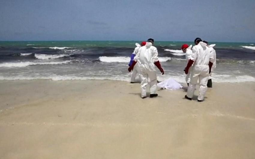 Liviya sahillərində 120-dən çox miqrantın cəsədi tapılıb