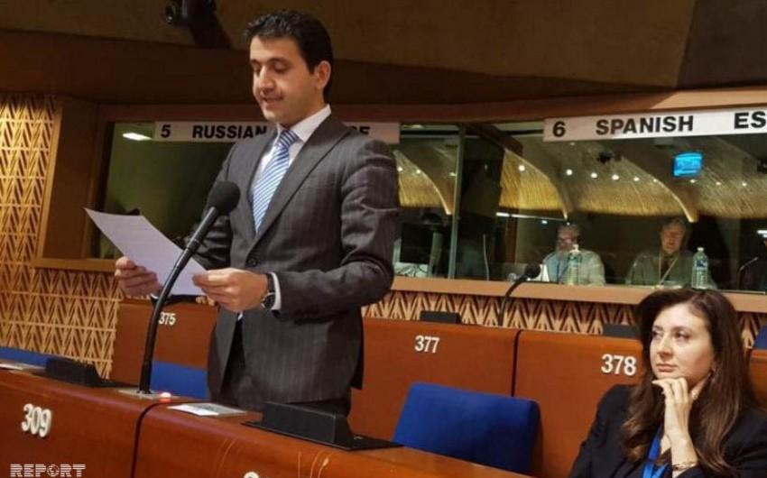 Deputat Naqif Həmzəyev AŞPA-da kiber təhlükəsizlik ilə bağlı çağırış edib