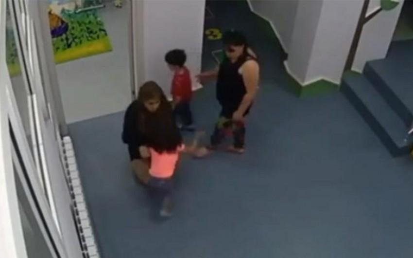 Uşaqların döyülməsinə görə bağça müdiri barəsində cinayət işi başlanılıb