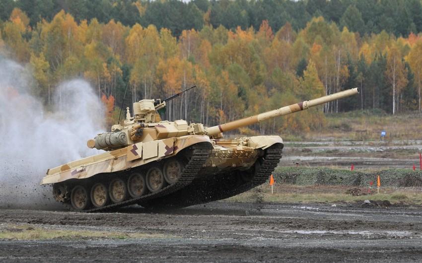Rusiya Azərbaycana T-90C tanklarının tədarükünü başa çatdırıb