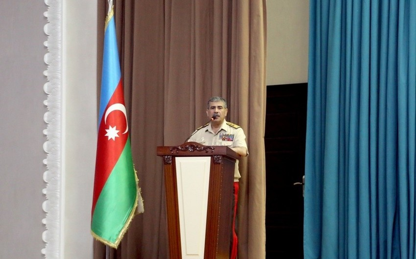 Zakir Hasanov: The military personnel must be educated in the spirit of love for the Motherland and hatred of the enemy