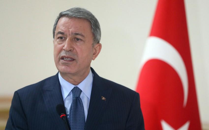 Hulusi Akar: Türkiyə-Rusiya Birgə Mərkəzinin inşası gedir