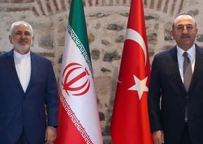 Türkiyə və İran XİN başçılarının görüşü olub