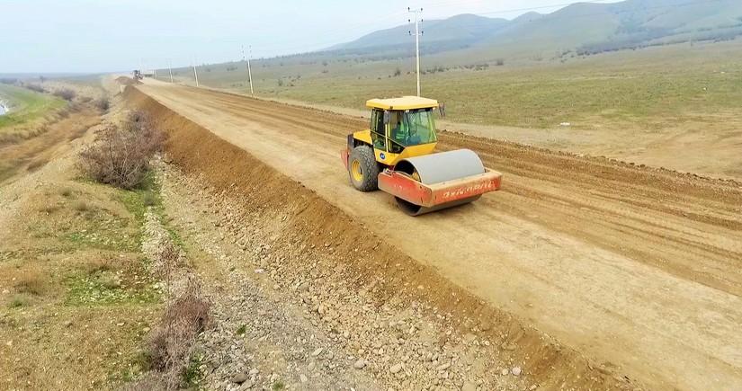 """""""Keşikçidağ"""" qoruğuna gedən yeni avtomobil yolunun inşasına start verilib"""