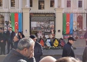 Перед посольством Азербайджана в Казахстане прошла акция поддержки