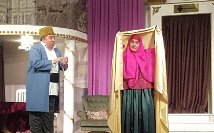 """Musiqili Teatr yeni mövsümü """"Ər və arvad"""" tamaşası ilə açacaq"""