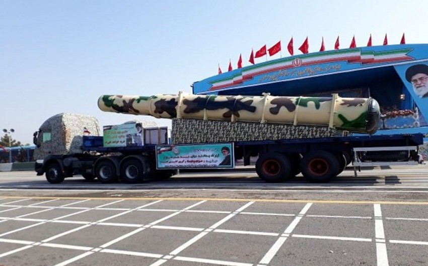 İran yeni raket hücumundan müdafiə sistemini nümayiş etdirib