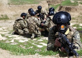 Training exercises held in peacekeeping units of Azerbaijan Army