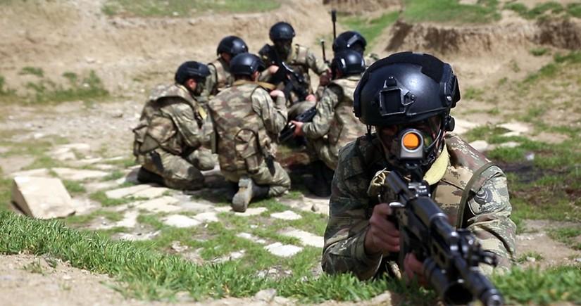 Training exercises held in peacekeeping units of Azerbaijan Army