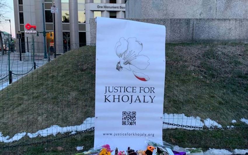 В американском штате Мэн почтили память жертв Ходжалинского геноцида