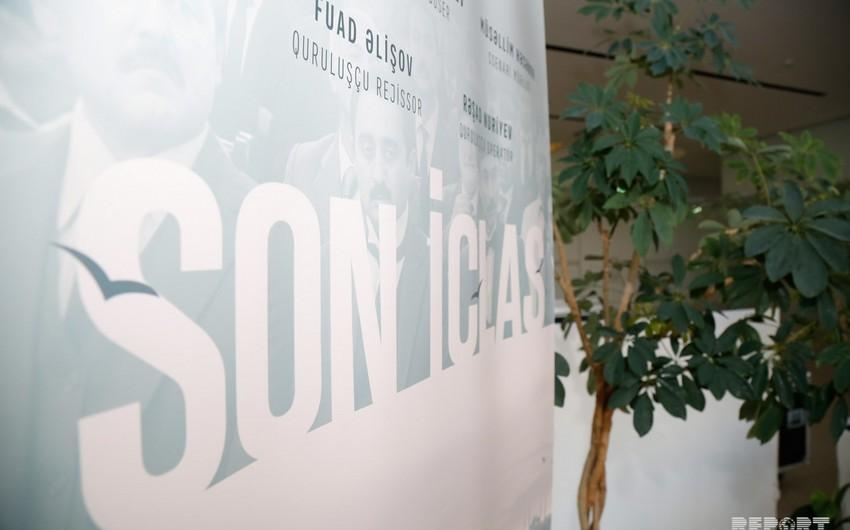 Bu gün AXC-nin 100 illiyinə həsr edilmiş Son iclas filminin təqdimatı keçiriləcək