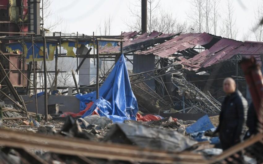 Çində zavodda partlayış olub, 2 nəfər ölüb, 57 nəfər yaralanıb