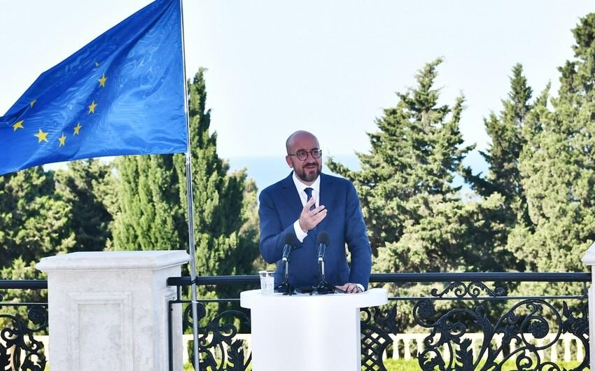 Şarl Mişel: Avropa İttifaqı Azərbaycan və Ermənistan arasında sülh əldə olunmasında konstruktiv rol oynamağa hazırdır