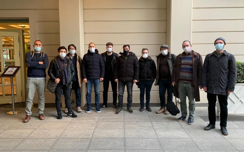 Bir qrup xarici jurnalist Qarabağa gedib