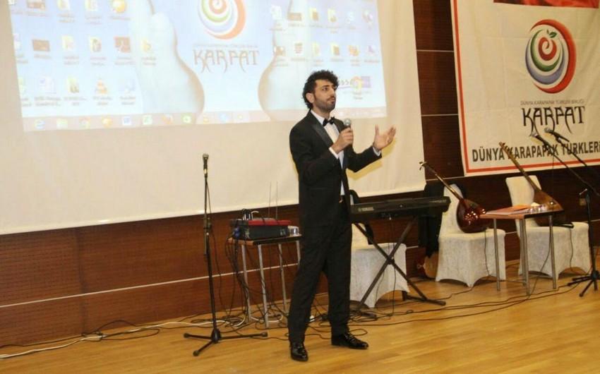 Azərbaycanlı müğənni Türkiyədə tamaşaçılara duyğulu anlar yaşadıb – FOTO