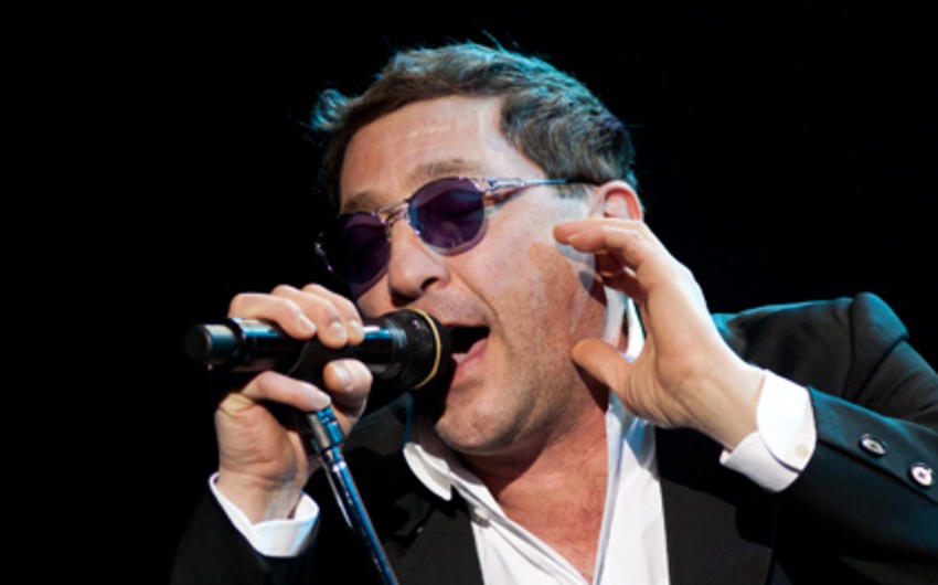 Russian singer Grigory Leps to perform in Baku