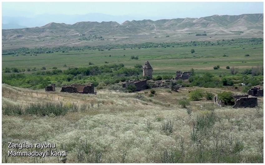 Footage from liberated Mammadbayli village of Azerbaijan's Zangilan district