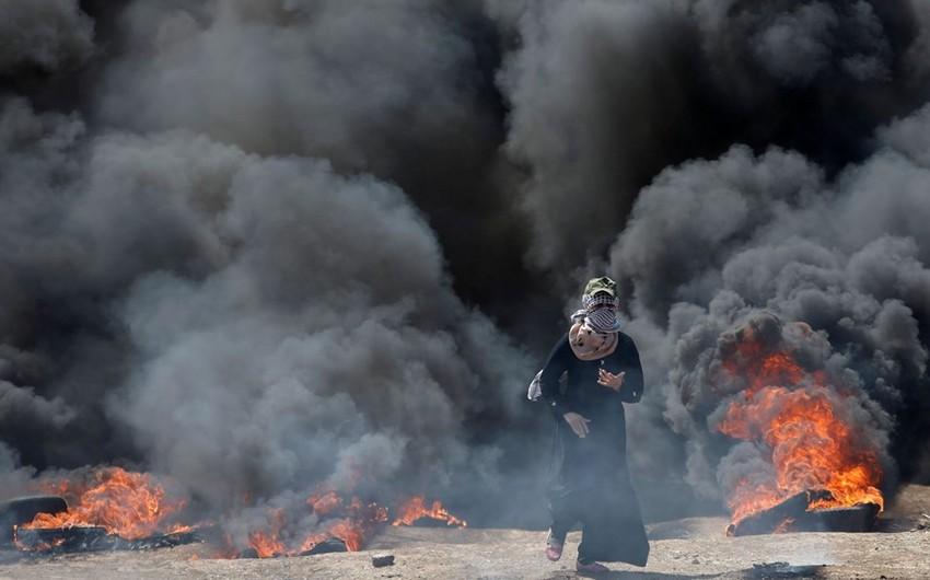 İsrail hərbçilərilə toqquşmalarda ölən fələstinlilərin sayı 59-a çatıb - VİDEO - YENİLƏNİB-5