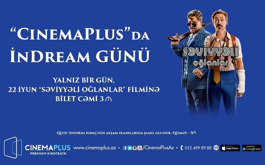 """CinemaPlus"" sabah endirim aksiyası keçirəcək - VİDEO"