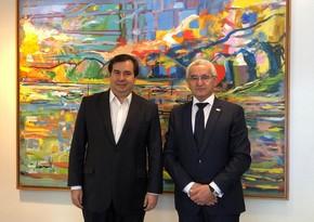 Президента Палаты депутатов Бразилии пригласили посетить освобожденные от оккупации территории