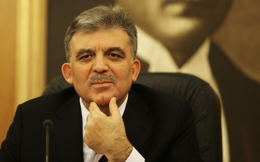 Abdullah Gül Azərbaycan Prezidentinə məktub göndərib