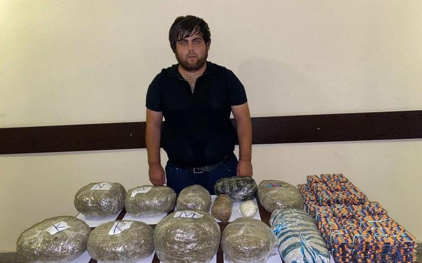 DSX: Sərhədçilərimiz külli miqdarda narkotik maddənin Azərbaycana keçirilməsinin qarşısını alıb