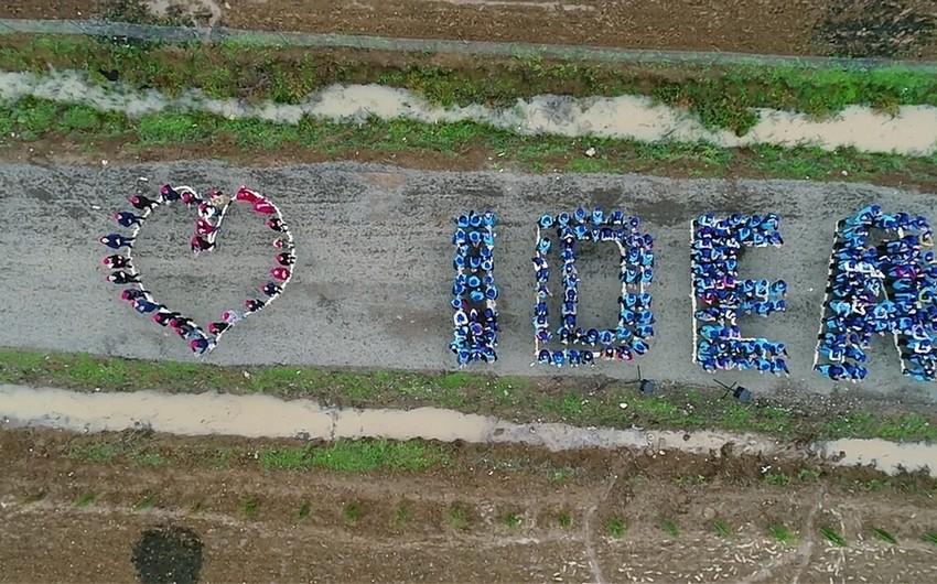 İDEA İctimai Birliyi Lənkəranda xeyriyyə aksiyası keçirib - FOTO