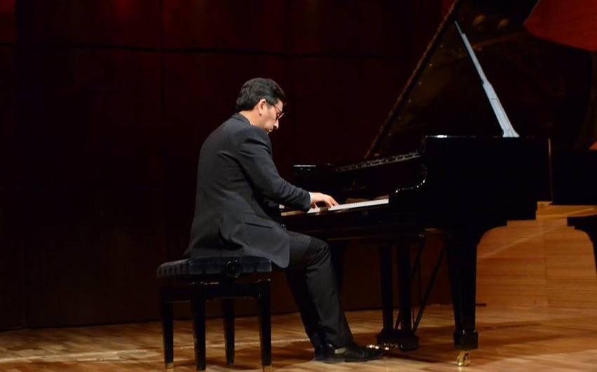 Meksikanın tanınmış pianoçusu Bakıda konsert proqramı ilə çıxış edib