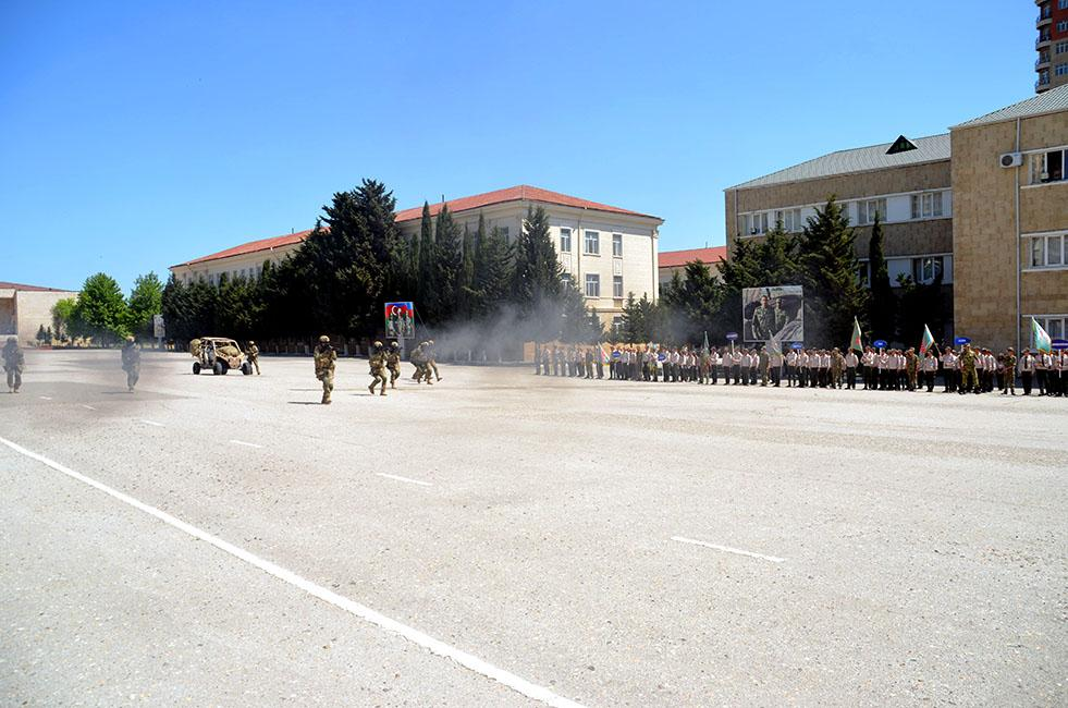 Final stage of the Shahin military sports games was held