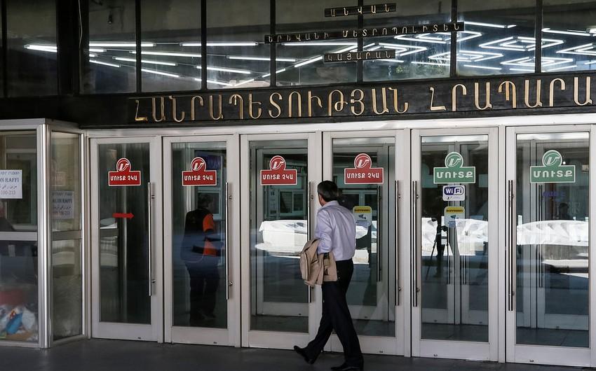 Yerevan metrosu işini bərpa edib