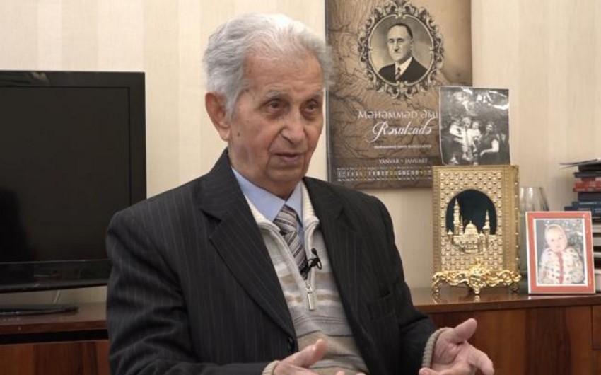 Yaqub Mahmudov: Şirməmməd Hüseynov öz sözünü deyən görkəmli ziyalımız idi
