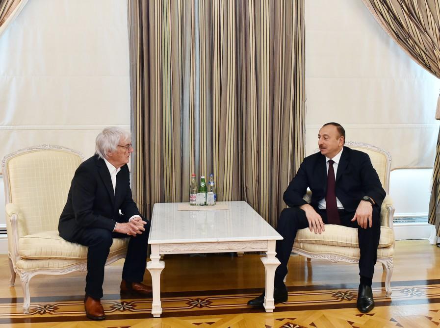 Azərbaycan Prezidenti: Bakı Formula-1 yarışının keçirilməsinə hazırdır