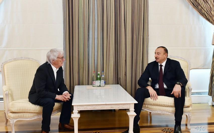 Президент Азербайджана: Баку готов к проведению соревнований Формула-1