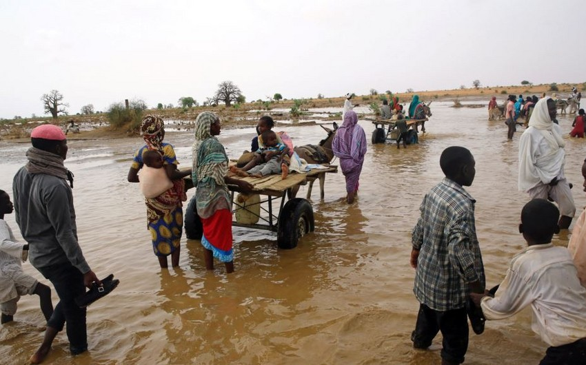 Sudanda sel və daşqınlar nəticəsində 60 nəfər ölüb