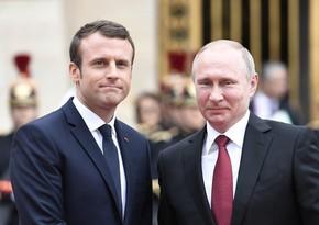 Putin, Macron mull Nagorno-Karabakh conflict
