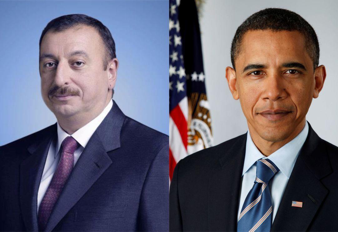 Barak Obama Azərbaycan Prezidentinə təbrik məktubu göndərib