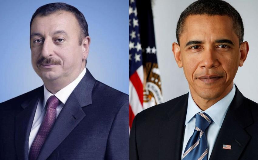 Barack Obama sends congratulations letter to Azerbaijani President