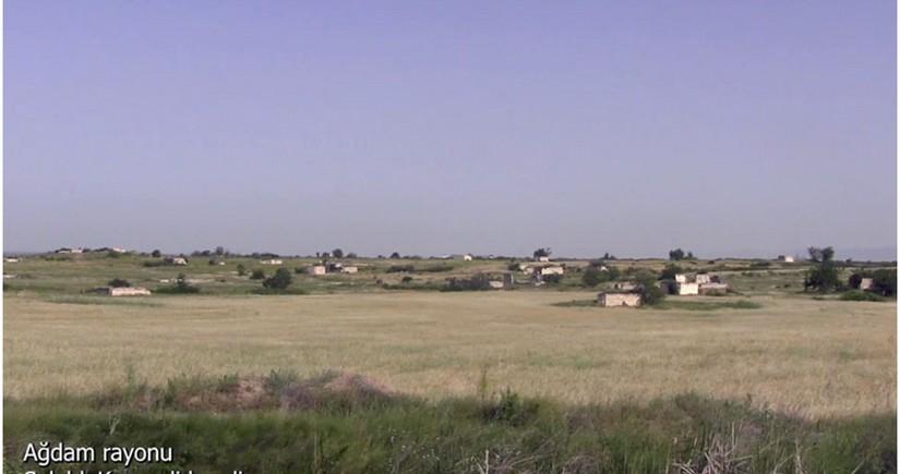 Освобожденное от оккупации агдамское село Салахлы Кенгерли