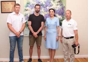 Омбудсмен встретилась с литовским журналистом Ричардсом Лапаитисом