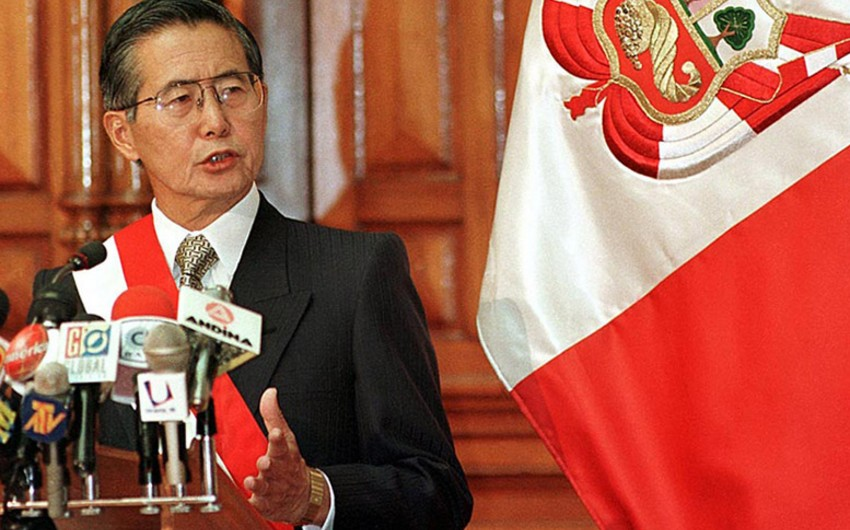 Perunun sabiq prezidenti Fuximori həbsdən azad edilib