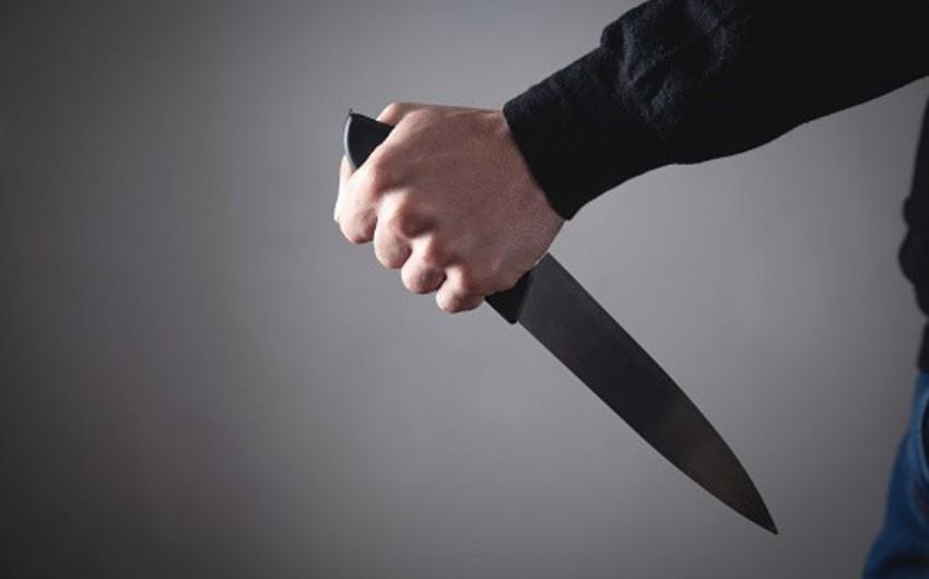 Xırdalanda adam bıçaqlayan şəxsin istintaqı başa çatıb