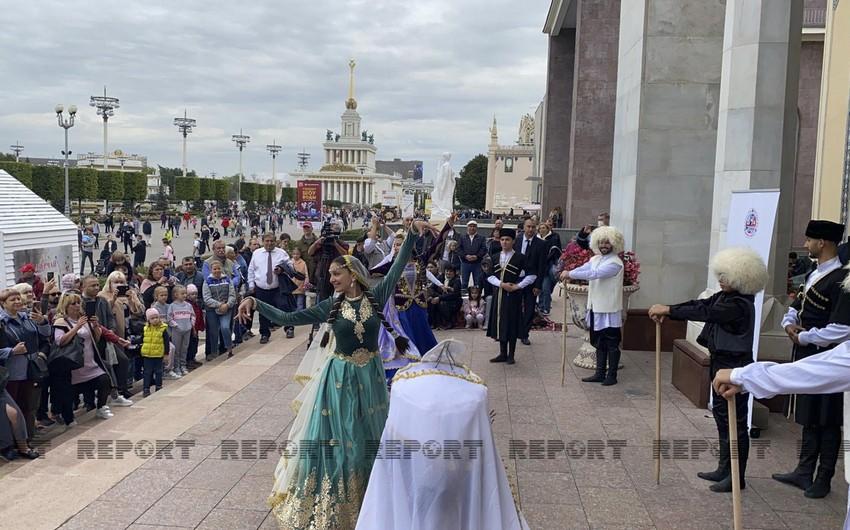 Azərbaycan mədəniyyəti Moskva şəhərində nümayiş olunub