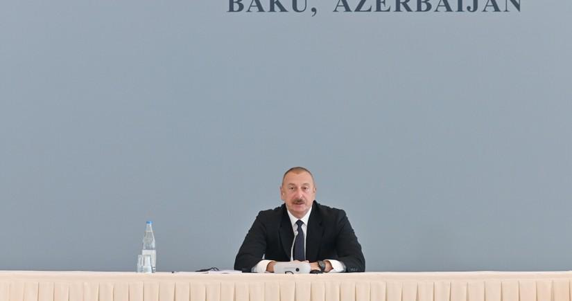 """Azərbaycan Prezidenti: """"Qarabağda fərqli idarəçilik modeli olacaq"""""""