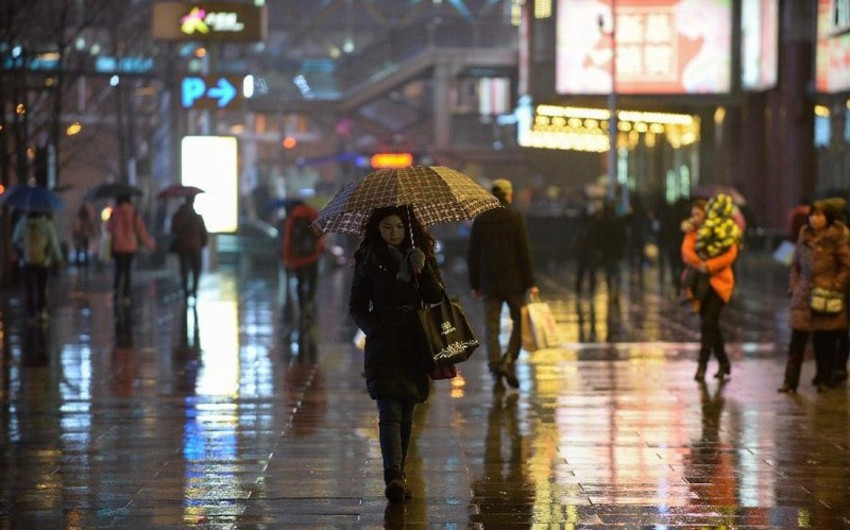 Beijing issued orange weather warning due to rainfall