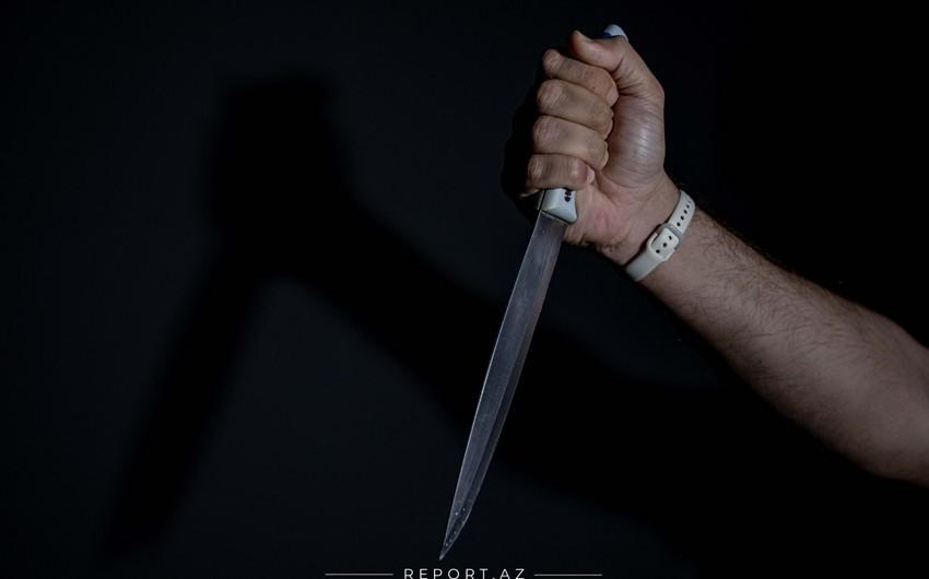 Gəncədə kişi bir neçə bıçaq xəsarəti alıb