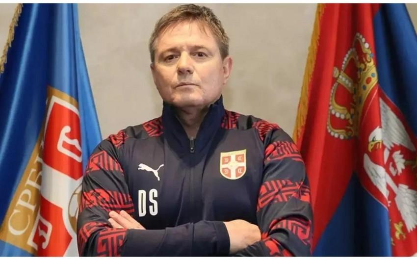 Serbiya millisinin baş məşqçisi: Qurban Qurbanovu yaxşı xatırlayırıq