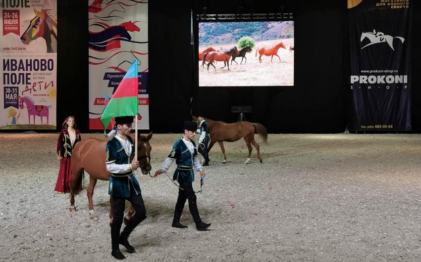 Qarabağ atları Moskvada beynəlxalq sərgidə nümayiş olunur